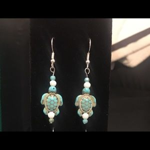 Handmade 🐢 earrings!